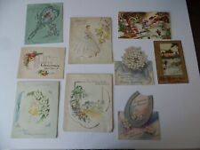 More details for 7 vintage 1930's 1940 greeting cards wedding anniversary plus 2 christmas cards
