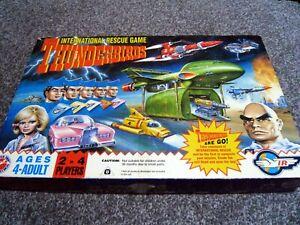 Thunderbirds International Rescue Board Game - Peter Pan Playthings - 1992