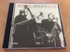 Red Mitchell - Warne Marsh Big Two, Vol. 1 (Live Recording, 1996) CD ALBUM C12