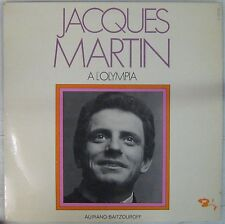Jacques Martin 33 tours A l'Olympia