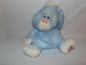 "Vintage 1986 Fisher Price 18"" Puffalump Blue Bunny Rabbit Plush No Dress (97)"