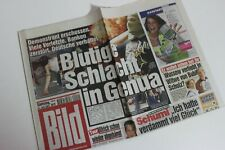 BILDzeitung 21.07.2001 Juli 21.7.2001 Geschenk 19. 20. 21. 22. Geburtstag