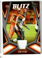 GENO ATKINS 2019 Panini Playbook Football JERSEY BLITZ #16 CINCINNATI BENGALS