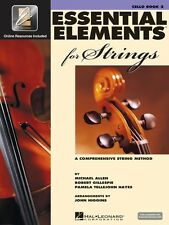 Essential Elements for Strings Book 2 with EEi Cello Book Media Online 000868059