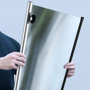Car Windshield Roller Sun Shade, Retractable Reflective Sun Blocker UV Protector