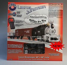 LIONEL JUNCTION SANTA FE LIONCHIEF REMOTE CONTROL TRAIN SET o gauge 6-83266 NEW