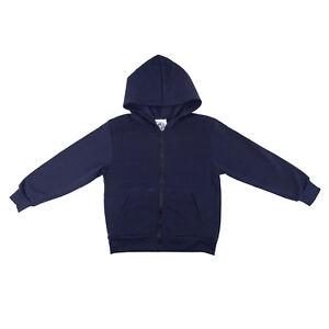 Kids Fleece Lined Hooded Jacket Tanvir School Uniforms Sizes 4 to 16/18