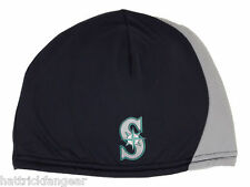 Seattle Mariners New Era Performance MLB Two Tone Knit Hat/Beanie/Toque