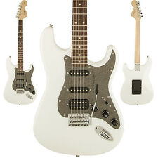 Squier Affinity Series Stratocaster HSS Electric Guitar Olympic White Strat NEW!