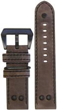 22mm XL Panatime  MB-1 Vintage Distressed Oak Pilot Watch Band 22/22 135/85