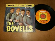 THE DOVELLS - HULLY GULLY BABY - YOUR LAST CHANCE  - 45 PS / LISTEN - DOO WOP