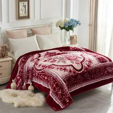 2 Ply Korean Mink Blanket Thick Blanket Pretty Raschel Blanket Queen