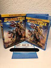 BUMBLEBEE 2019 Blu Ray + Digital HD (NO DVD INCLUDED) Please Read Desc.