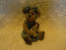 Boyds SALLY QUIGNAPPLE with ANNIE...OLE FRIENDS ARE BEST Bearstone~ mint