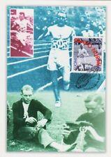 Paavo Nurmi Olympic Winner Runner Legend Of Finland Mint Maxi Card FDC 1997
