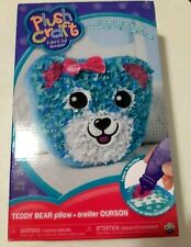 Orb Factory Plush Craft Teddy Bear Pillow Kit