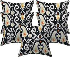 """Indian 16""""Cushion Cover Kantha Handmade Vintage Sofa Pillow Cover Decorative 5PC"""