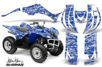 2006-2012 Yamaha Wolverine 450 graphics decal kit NO9500 Purple Zombie Skulls