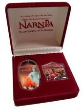 Disney Pin: UK Disney Store - Narnia DVD Pin & Key Chain