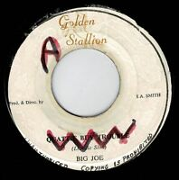 "BIG JOE-quattie buy trouble  7""   golden stallion  (hear)   roots reggae"