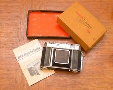 1952 Kodak Retina IIa 35mm Folding Camera Schneider-Kreuznach Case 50mm f2 Lens