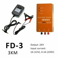 12v Electric Fence Controller Energizer Charger For Animal Farm Poultry