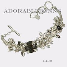 Authentic Lori Bonn Sterling Silver The Debu-Taunt 2011 Bracelet 411133