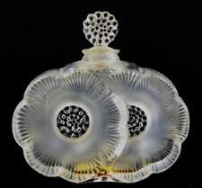 Lalique 'Deux Fleurs' Crystal Perfume Bottle Lot 76