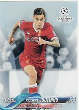 2017/18 Topps Chrome Champions League Refractor #11 Philippe Coutinho Liverpool