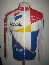 Banesto worn by NIJBOER Spain jersey shirt cycling wielrennen radsport size XL