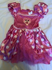 Disney Pink Minnie Mouse Costume Age 5-6 - Brand new with tags