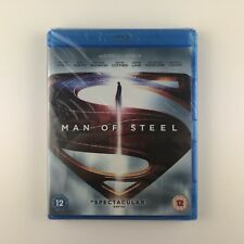 Man Of Steel (Blu-ray, 2013) *New & Sealed*