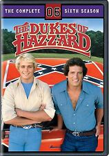 Dukes of Hazzard The Complete Season 6 Sixth 6th Movies DISC DVD - NEW SEALED