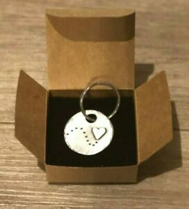 Kutuu Pewter Charm Keyring - Follow your Heart