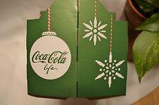 Coca Cola Cardboard 6-Pack Bottle Case - 2016 Santa Holiday Limited Edition