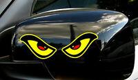 Evil Eyes Stickers Decals Car Motorbike Helmet Window Rearview Mirror Laptop