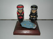 GERRY ANDERSON CAPTAIN SCARLET  'SCARLET BLACK & SPV ON WOODEN STAND'