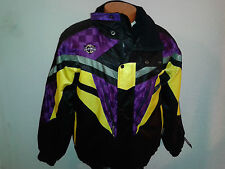 Coldwave Snowmobile Jacket Ski Snow Coat Thermo Insulation M Medium Multi-color