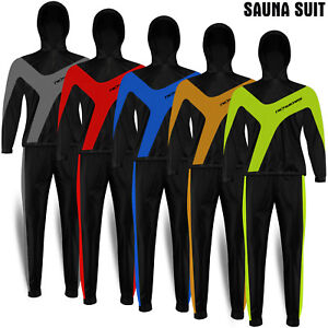 Heavy Duty Suit Sauna Exercise Gym Sweat Suit Fitness Weight Loss with Hoody