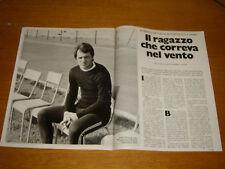 ROBERTO BETTEGA JUVENTUS clipping articolo ritaglio rivista foto photo 1972