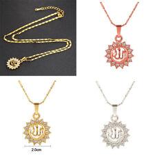 Arabic Muslim Women Islamic God Allah Pendant Necklace Jewelry 3 Colors