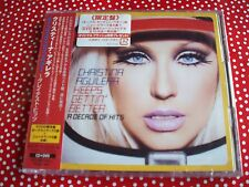CHRISTINA AGUILERA KEEPS GETTIN' BETTER A DECADE OF HITS CD/DVD JAPAN IMPORT NEW