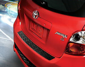 Genuine Toyota Rear Bumper Protector for the 2011-2013 Toyota Matrix-New, OEM