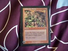 magic the gathering Goblin War Strike