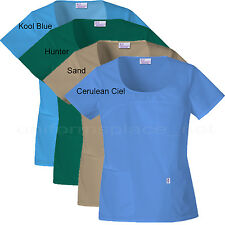 MEDICAL SCRUBS Skechers top Women Round Neck Top Short sleeve shirt 25702 Colors
