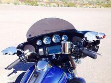 """Harley 8"""" Windshield Dark Tint – / Street Glide / Tri-Glide / 2014 - 2017"""