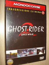 DVD MONDOCORSE GHOST RIDER GOES WILD 2 TRANSGRESIÓN EXTREMO