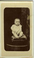 ESPANA SPAIN BARCELONA baby bébé sur un coussin CDV photo circa 1880