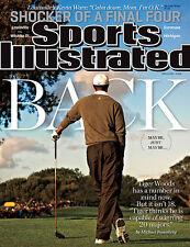 April 8, 2013 Tiger Woods Golf Regional Sports Illustrated No Label Newsstand A