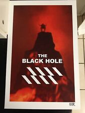 The Black Hole movie poster print